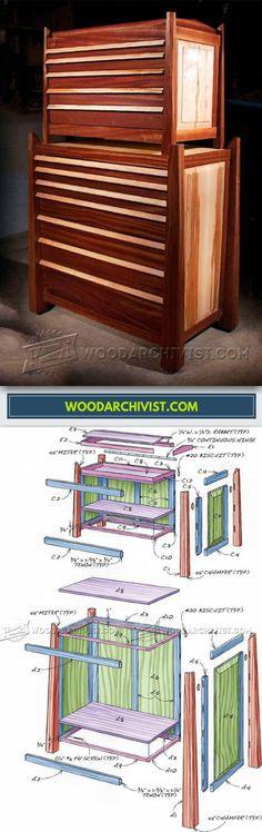 Tool Storage Cabinet Plans - Workshop Solutions Plans, Tips and Tricks | WoodArchivist.com
