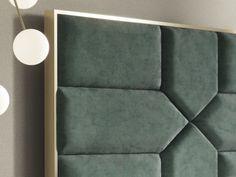 Luxury Bedroom Design, Bedroom Bed Design, Bedroom Furniture Design, Bed Furniture, Bed Headboard Design, Headboards For Beds, Bed Back Design, Padded Wall, Stylish Bedroom