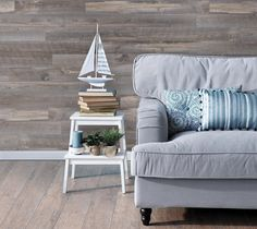 Genuine engineered hardwood wall planks with adhesive peel and stick backs. Available in many styles and colors, shop peel and stick wood wall planks today. Stick On Wood Wall, Peel And Stick Wood, Wall Wood, Barn Wood Projects, Wood Panel Walls, Reclaimed Barn Wood, Engineered Hardwood, How To Antique Wood, Wood Design