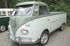 1962 Volkswagen SingleCab pickup truck