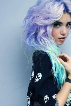 Ombre hair- sometimes i wish i could rock this