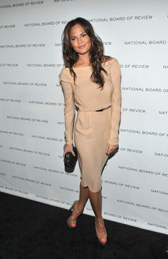 Chrissy Teigen At the  2011 National Board of Review of Motion Pictures Gala in New York.    - ELLE.com
