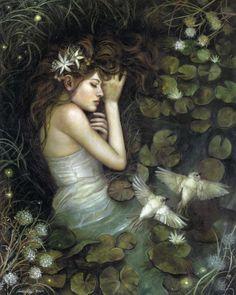 Annie Stegg - Ophelia
