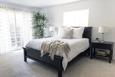 Master Bedroom in Santa Monica, CA by Kelly Martin Interiors.