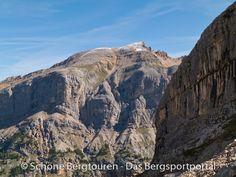Blick zur Pareispitze (mit 2794m Höhe) im Naturpark - Fanes-Sennes-Prags, Südtirol, Italien - Foto: Mario Hübner
