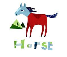 Horse | chengelillustration.com/ | Christiane Engel | Flickr