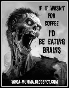 Good grief .... Hope I don't look like this without my coffee!