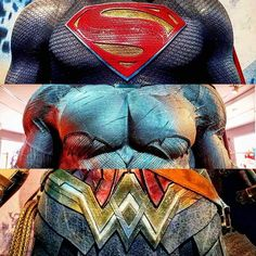 The Trinity from the D.C. Extended Universe