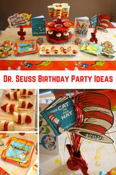 A Seussical Themed Dr. Seuss Birthday Party