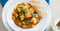 Indian-style cheese adds creamy flavour to this aromatic vegetarian korma curry.