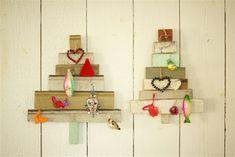 Christmas tree - delicje design - design, wystrój wnętrz, dekoracje, meble: Drewniana choinka na ścianę