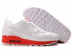 hot sale online 82d85 9c647 Ken Griffey Shoes Nike Air Max 90 White Varsity Red  Nike Air Max 90 -  Excellent Nike Air Max 90 White Varsity Red kicks are marked with a pure  white ...