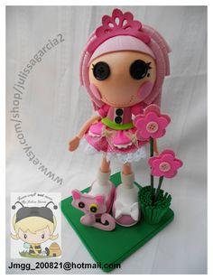 jewel sparkle lalaloopsy foam doll por julissagarcia2 en Etsy, $18.95