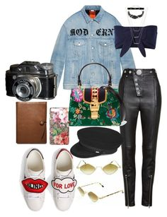 """""""Untitled #1147"""" by veronice-lopez on Polyvore featuring Gucci, Alexander Wang, Solid & Striped, Yves Saint Laurent, Bartoli, ERTH and Coach"""
