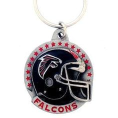 NFL Atlanta Falcons Carved Key Chain Metal >>> Want additional info? Click on the image.
