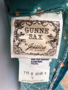 70's Gunne Sax Turquoise Floral Midi Sundress Sz S | Etsy Midi Sundress, Double Ruffle, Gunne Sax, Cream Flowers, Flower Shape, Lovely Dresses, Bohemia People, Im Not Perfect, Floral Prints
