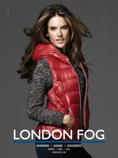 Alessandra Ambrosio for London Fog