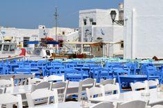 Naousa village, Paros island, Cyclades, Greece - #greece #travel