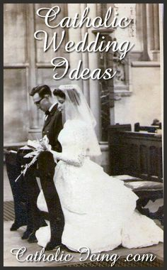 Catholic wedding ideas, complied by over 40 Catholic brides. There are some really good ones here that I hadn't seen yet!