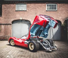 The Ferrari 330 P4......and I hate Ferraris: It was built with a singular purpose: lead Ferrari's counterattack after the all-out assault waged by Ford in the form of the GT40. And although the P4 managed a clean sweep at 1967's 24 Hours of Daytona, the GT40s proved too tough to take down at Le Mans.