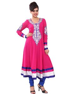Chhipaprints have huge attractive collection of Anarkali Kurtis. It provides Online shopping in affordable price. India And Pakistan, Anarkali, Traditional Outfits, Ethnic, Tunic Tops, Pure Products, Embroidery, Kurtis, Online Shopping