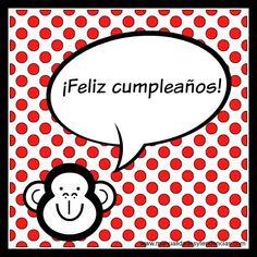 Manualidades y tendencias: Tarjeta de #cumpleaños gratis / Free #birthday card www.manualidadesytendencias.om #freebies #descargable #scrapbooking