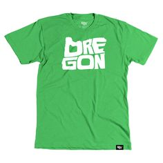 Oregon T-shirt – Stately Type