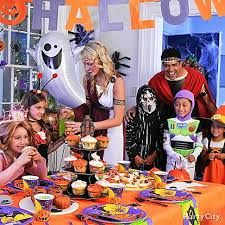 Image result for kids at a halloween party