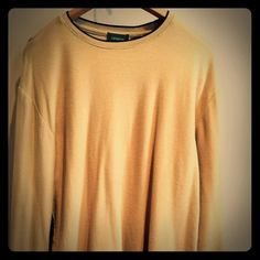 Men's Claiborne long sleeved shirt. Size S. Size S, men's. Color is beige/dark cream. Good used condition.30% off bundles of 2 or more listings from my closet😊. Claiborne Shirts Tees - Long Sleeve