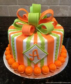 Welcome to Mary Alexander's Cakes - Birthday Cake