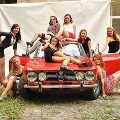 alfa and hot girls #alfaromeo #alfa #italiandesign