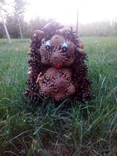 Hedgehog Figure Forest Forest Beast Figure Hedge of Cones Room Decor House Decorations Gift Forest Resident Cones Decor Exclusive Teaching Colors, Baby Learning, Busy Book, Baby Games, Hedges, Pine Cones, Kids Toys, Beast, Teddy Bear