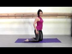 Belly dance stretches for better form and flexibility.  I tried just the first few and WOW.