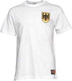 Toffs Herren Germany Nummer 5 World Cup T-Shirt Weiß auf shopstyle.de