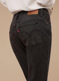 Levi Strauss & Co. 505C JEAN FADING COAL | Aritzia Levis Pants, Trouser Jeans, Trousers, Levi Strauss & Co, Minimal Chic, Girls Be Like, Pretty Outfits, Girly Things, New Dress