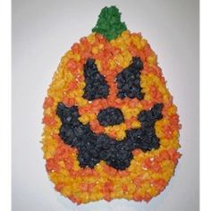 Tissue Paper Pumpkin - Kids