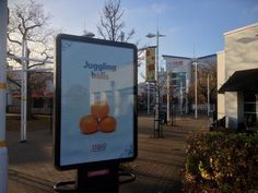#Christmas is coming!!! Great festive creatives series from @UKTesco on @Primesight #OOH - is that #Santa over there?!