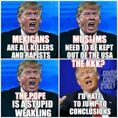 Trump has problems he can not lead America
