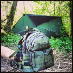 #bushcraft #mapedition #condor #tarp #tent