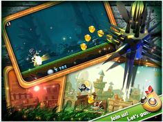 As you see, Chubby Run is a parkour game. You could act as several lovely chubby guys and rush to endless. But still you need jump and jump again to escape the barriers and ravines, and dive from the high air to kill the enemies. What is more, you could collect the coins to get the shield to avoid the damage. And also you could unlock the new character with the coins.