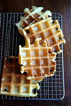 Aretha Frankenstein's Waffle Mix from alexandracooks