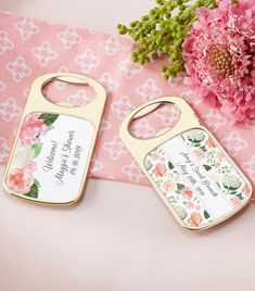 Kate Aspen's Bridal Brunch Personalized Gold Bottle Openers are unique favors to hand out to your friends and family after your special occasion. | Personalized Bridal Brunch Gold Bottle Opener | My Wedding Favors | #bottleopener