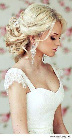 wedding hair ideas half up half down - Google Search