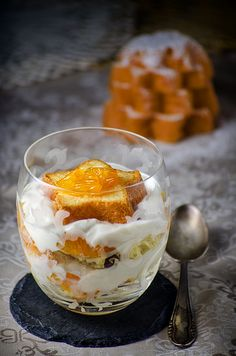 Italian Christmas trifle with ricotta cream and mandarin by RecipeTaster, via Flickr