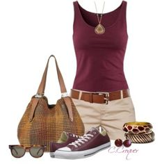 Fashion summer outfits casual converse Ideas for 2019 – Women's fashion Chic Summer Outfits, Cute Casual Outfits, Outfit Summer, Casual Chic, Summer Dresses, Summer Wear, Spring Summer Fashion, Style Summer, Traje Casual