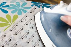 How to make fabric labels tutorial
