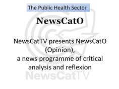 The Public Health Sector