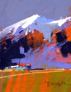 tony allain pastels and oils