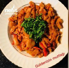 Et Tadında Kabak Kavutmam Curry, Chicken, Meat, Ethnic Recipes, Food, Curries, Essen, Meals, Eten