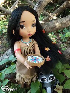 Pocahontas La flèche me dirige vers lui Blythe Dolls, Girl Dolls, Baby Dolls, Disney Animator Doll, Disney Dolls, Newberry Dolls, Disney Animators Collection Dolls, Baby Disney Characters, Baby's First Doll